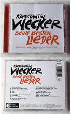 KONSTANTIN WECKER Seine besten Lieder .. 2003 Universal CD TOP