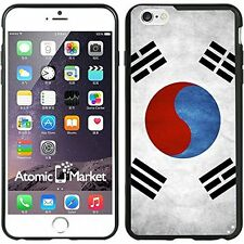 South Korea Grunge Flag For Iphone 6 Plus 5.5 Inch Case Cover