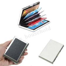 Kreditkartenetui Kartenetui Scheckkartenetui silber Hülle Visitenkarten ALU-Box