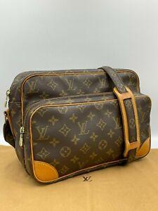 Auth Louis Vuitton Monogram Nil M45244 Shoulder bag NS9-0667