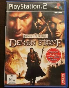 Forgotten Realms: Demon Stone   PlayStation 2 PS2 Game   Aus Seller   Free Post