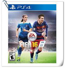 PS4 FIFA 16 SOCCER SONY PlayStation Electronic Arts EA Sports Games