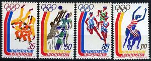 Liechtenstein 1976 SG#636-9 Olympic Games MNH Set #D59417