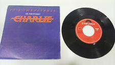 "CHARLIE IT´S INEVITABLE 1983 POLYDOR SINGLE 7"" VINYL SPANISH EDIT RARE!!!"