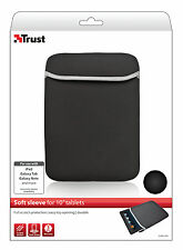 """NEW TRUST 18362, RETAIL PACKAGED SOFT FIBRE SLEEVE FOR ALL 10"""" / 10.1"""" TABLETS"""