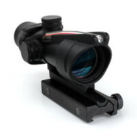 Used TOC1 Red BDC Reticle ACOG External Design 4x32 Fiber Optic Hunting Scope
