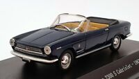 Starline Models 1/43 Scale STA560528 - 1962 Fiat 2300 S Cabrio - Dark Blue