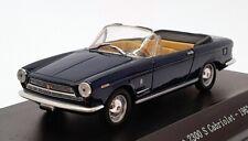 Starline Models 1/43 Scale STA560528 - 1962 Fiat 2300 S Cabrio - Dark Blue