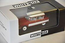 Whitebox WHT155 - Citroen Ami 6 rouge / blanc - 1961   1/43