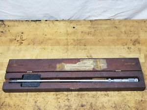 Lufkin No 683 Multi-mike Groove Micrometer With Case
