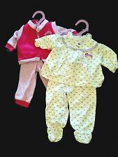 "2 Vintage 80's 'Pamela' Outfits ~ Pj's & Play Wear 18-20"" Doll ~ American Girl!"