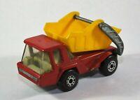 MATCHBOX Superfast No.37 Skip Truck 1976 LESNEY Diecast Model B13