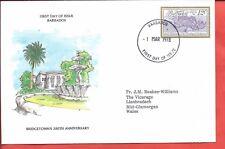 Sellos de Barbados. 1978 Bridgetown FDC (A500)