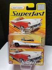 2005 MATCHBOX SUPERFAST 1956 FORD SUNLINER LIMITED TO 8000