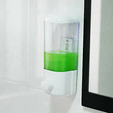 Sucker  Bath Soap/Shampoo Dispenser Lotion Pump Action Wall Mounted BathroomBBUS