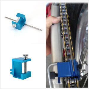 Professional Metal Blue Motorcycle Bikes Chain Sprocket Alignment Tool Universal
