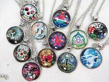 US Seller - 12 pieces vintage hippie necklace wholesale jewelry bulk lot