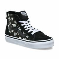 Vans Boys SK8-Hi Glow Up Sneakers (Xray Vision) Black/White 11.5 New