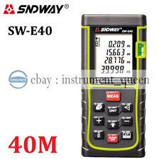 SNDWAY 40M/131ft/1575in Laser Distance Meter Range Finder Measure Diastimeter