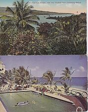 Jamaica 1935 - 1987 - 7 Posted & Unposted Picture Post Cards - Ocho Rios - Poui