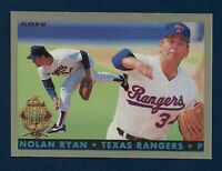 ⚾NOLAN RYAN HOF🏆1993 FLEER FINAL EDITION💎DIAMOND TRIBUTE #6💥PACK FRESH