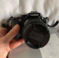 Panasonic Lumix DMC-G3K Cámara + caja original, caso bolsa y Trípode!! utilizado.