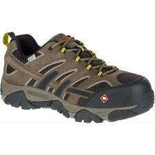 Merrell Newest Men's J15773 Moab 2 Composite Toe Waterproof Safety Work Shoes