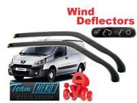 PEUGEOT EXPERT  02/2007- 2016  Wind deflectors  2.pc HEKO 15149