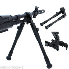 "Adjustable 8"" -10"" Tactical Spring Air Rifle Bipod Range for Hunting Shooting US"