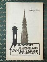 Van Der Kelen Instituto Superior de Pintura Catálogo Comercial 1927-28