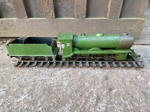 Live Steam Bassett Lowke? Railway Locomotive & Tender Train Restoration Project