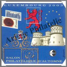LUXEMBOURG - 2003 - Salon Philatélique de PARIS (CNEP N°39)