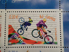 FRANCE 2004, timbre 3696, SPORTS de GLISSE, BICROSS, neuf**, MNH STAMP