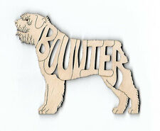 Bouvier des Flandres Dog laser cut wood Magnet