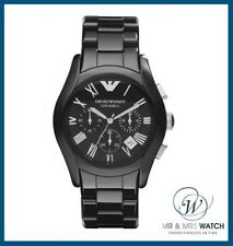 Neuf homme emporio armani valente cermica watch-AR1400-RRP £ 479