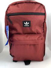 Adidas Original National Backpack Maroon/ Blk Backpack One SiZe # CJ6390