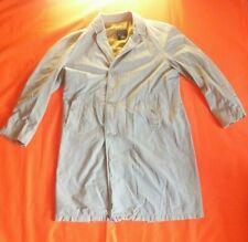 Vintage Hector Powe BURBERRY beige pleine longueur Trench Coat Taille L boutonné