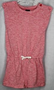 BABY GAP Romper Shorts Girls Size 3 Red
