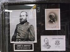 James A. Garfield signed autographed photo custom framed Jsa Loa Z02205