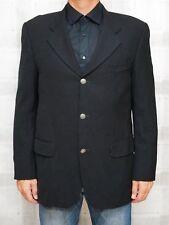 KENZO ☘ Herren Sakko Gr. 52 Jacke Business Schwarz Herren Coat Jacket