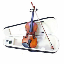 Student Violin Acoustic 4/4 Violin Strap Case Bow Rosin SET Full Size Violin