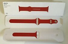 GENUINE APPLE WATCH SPORT BAND STRAP 42mm /44mm product RED 2015 Gen 1
