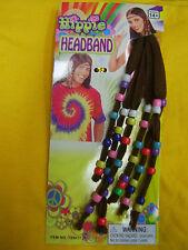Hippie Headband Costume 60's 70's Fancy Dress Up Party