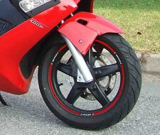 SET TIRAS ADHESIVO para ruedas compatible x SCOOTER GILERA NEXO ENTRE