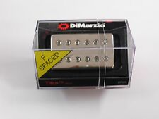 DiMarzio F-spaced Titan Neck Model Humbucker W/Nickel Cover DP 258