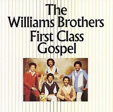 WILLIAMS BROTHERS first class gospel SOUL 9 hits NEW CD