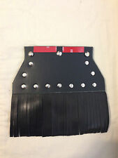 FRINGED & STUDS Front Fender Mud Flap, Universal Fit or Harley Davidson