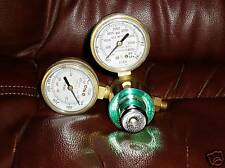 Gentec Compressed Gas Regulator ~ 210x-80-a Double gage