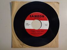 """OGNIR & THE NITE PEOPLE:I Found A New Love-All My-U.S.7"""" 65 Samron Records S-102"""
