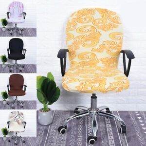 Elastic Computer Office Rotating Chair Cover Stretch Slipcover Protector Chair